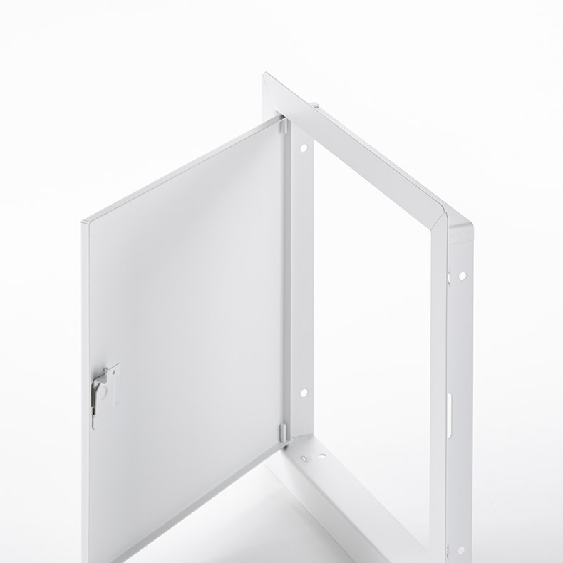 Flush Universal Access Door with Exposed Flange, hex head cam latch, pin hinge