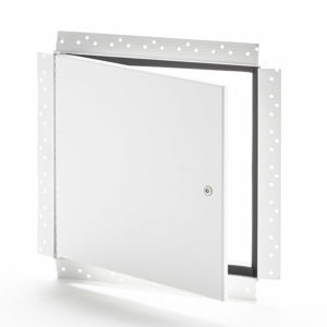 Flush Access Door with Drywall Bead Flange, pinned hex head cam latch, piano hinge