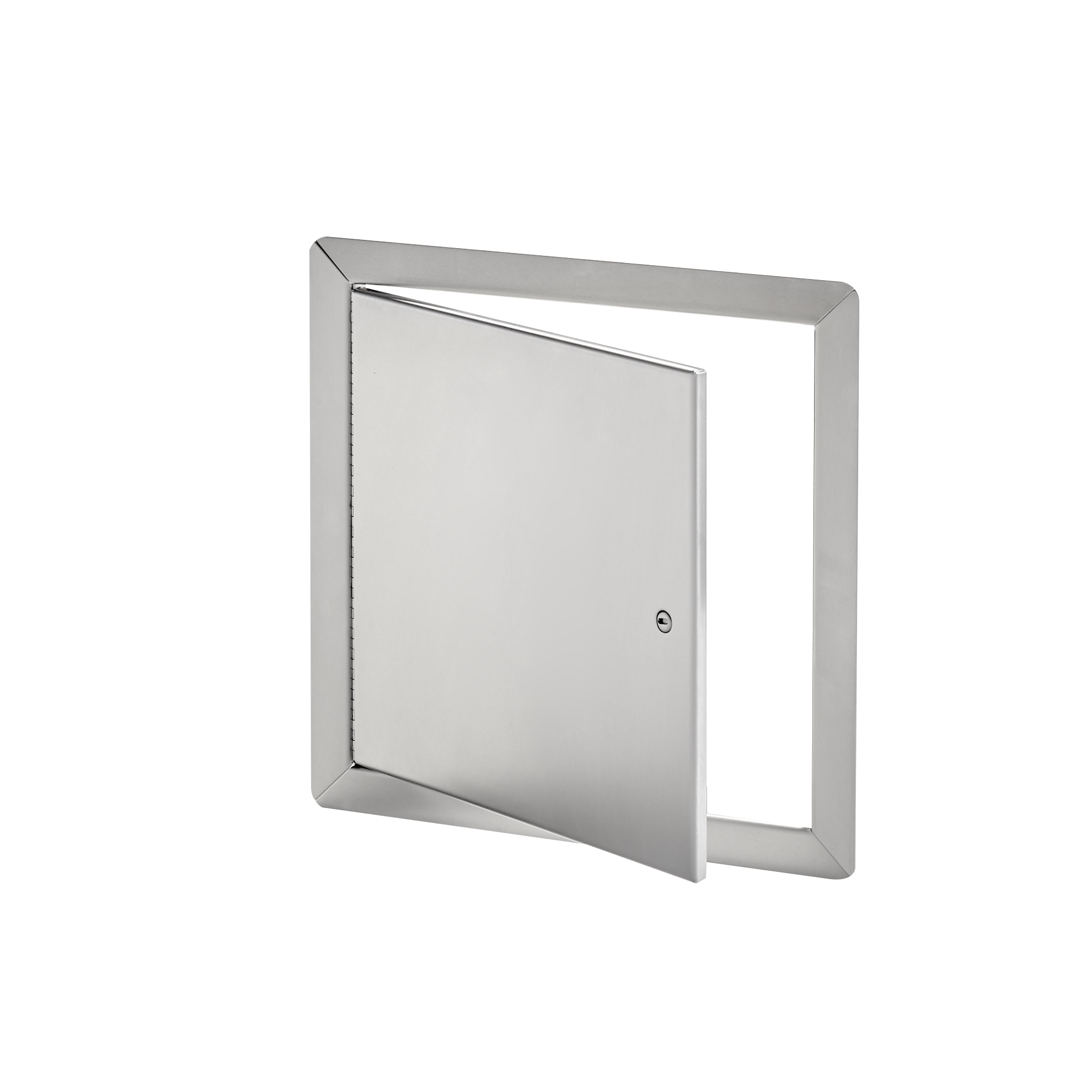 AHD-SS-00- Panneau d'accès à usage universel, en acier inoxydable, avec cadre apparent- loquet à tournevis, penture de type goupille