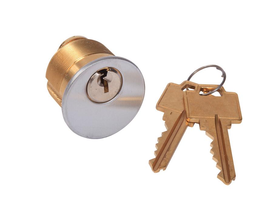 AHD-SS-85CKA- Panneau d'accès usage universel acier inoxydable cadre apparent- mortaise enclenchement automatique cylindre clés identiques, penture goupille