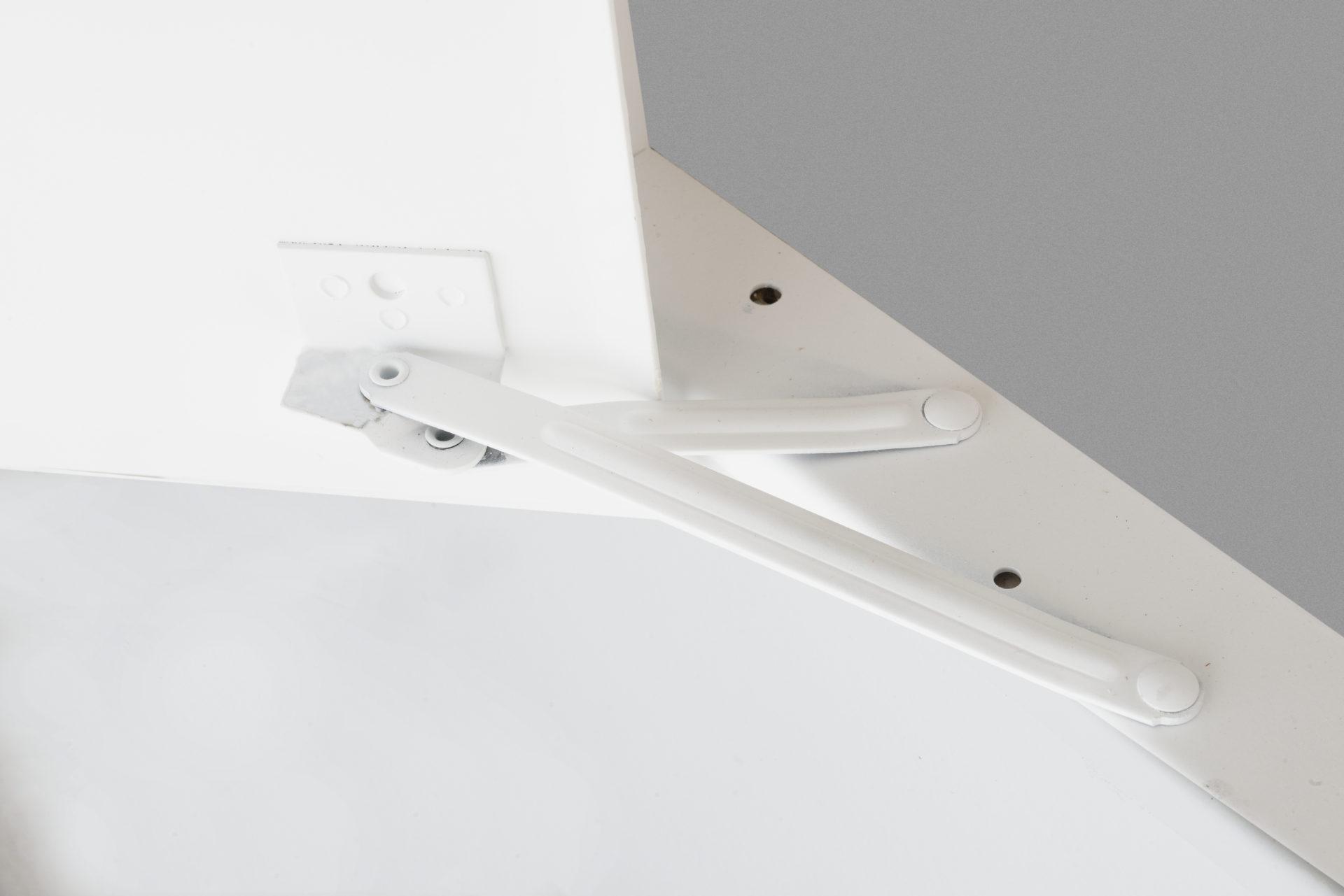 Cabinet multifonctionnel avec fenêtre en Plexiglas et cadre dissimulé, loquet à tournevis, charnière de type pantographe
