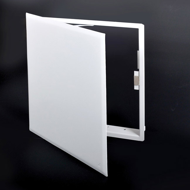 CONTOUR - Flush Universal Access Door with Magnetic Closing, concealed magnets, pantograph hinge, holding cable