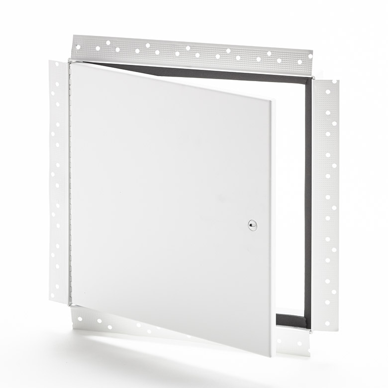 Panneau d'accès avec cadre perforé pour gypse, loquet à tournevis, joint d'étanchéité 1