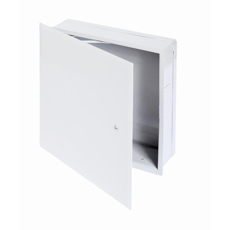 Cabinet multifonctionnel avec cadre dissimulé, loquet à tournevis, charnière de type pantographe
