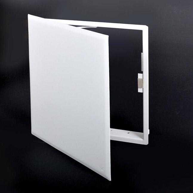 CTR-MAG-00- CONTOUR- Panneau d'accès à usage universel avec fermeture magnétique aimants dissimulés, charnière de type pantographe