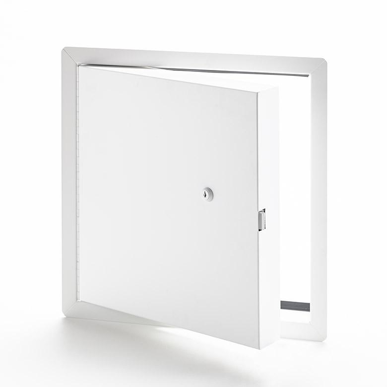 PFI-10-60- Panneau d'accès isolé, homologué contre le feu avec cadre apparent- barillet à clé, penture piano, joint d'étanchéité